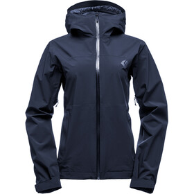 Black Diamond Stormline Stretch Rain Shell Jacket Dame captain